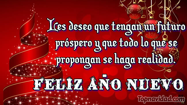 Felicitaciones de Feliz año nuevo para compartir