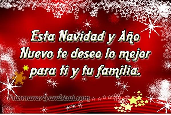 Frases para felicitar al amistad en esta Navidad y Año Nuevo