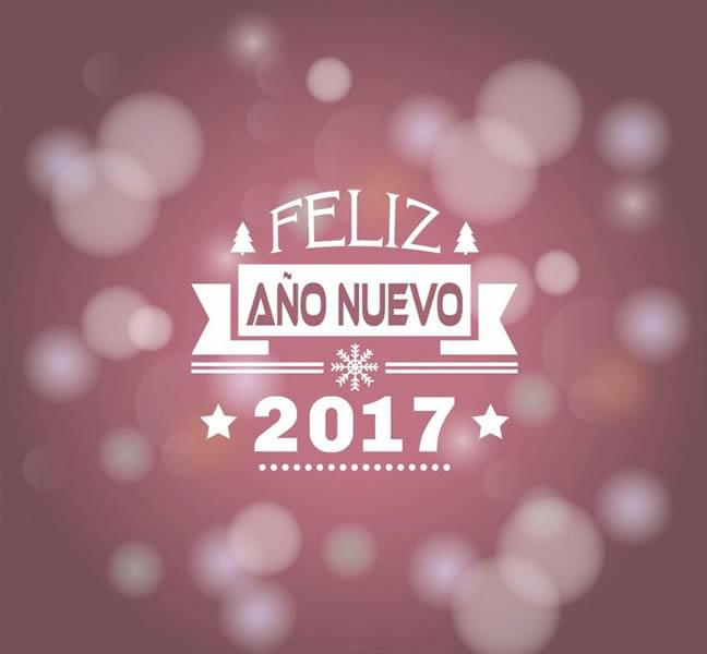 Im genes con mensajes de feliz a o nuevo 2017 im genes y - Felicitaciones cortas de navidad y ano nuevo ...