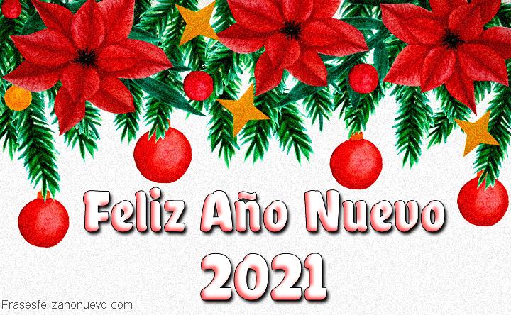 Felicitaciones para año nuevo 2021