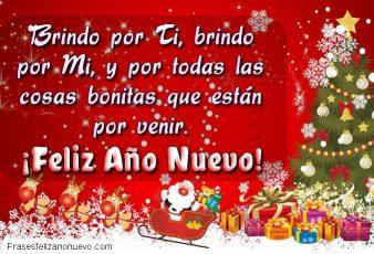 Felicitaciones y Saludos para Año Nuevo