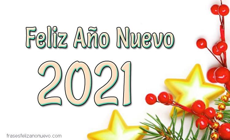 Feliz Año Nuevo 2021 Para felicitar gratis