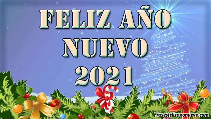 Feliz año 2021 para compartir