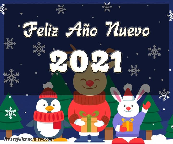 Frases cortas de feliz año nuevo 2021