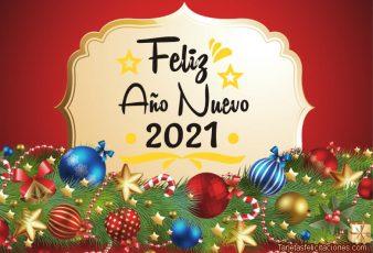 Imágenes y frases para saludar año nuevo 2021