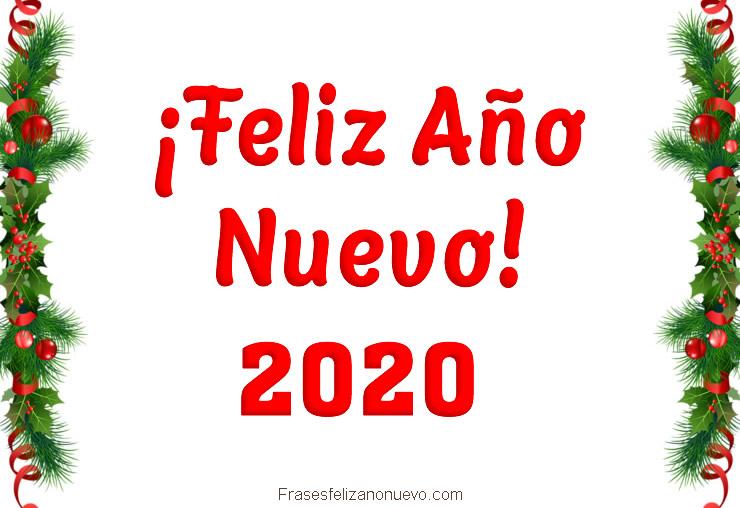 Tarjetas Virtuales de Feliz Año Nuevo 2020