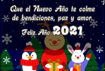 Tarjetas de Felicitaciones para Año Nuevo 2021