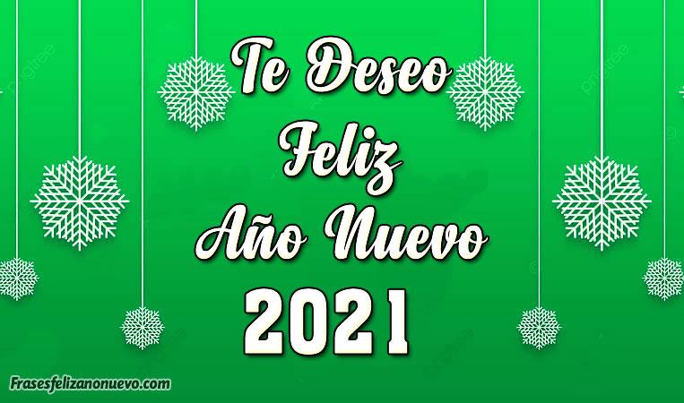 Tarjetas de Feliz Año Nuevo 2021 para Felicitar