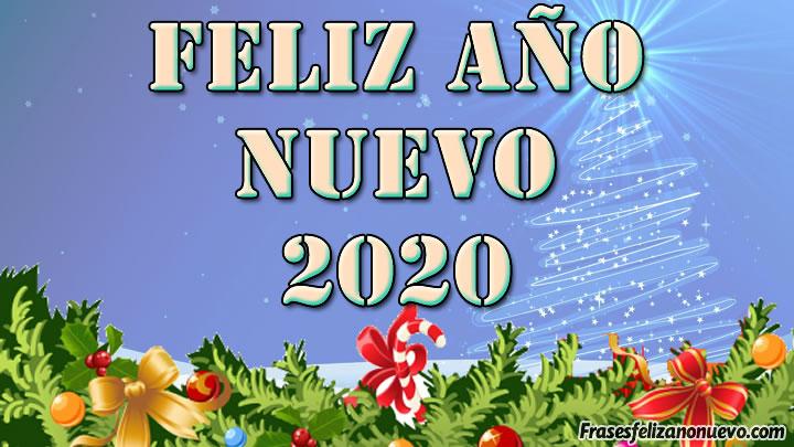 Tarjetas de feliz año nuevo 2020